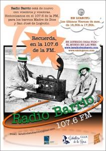 Cartel RADIO BARRIO